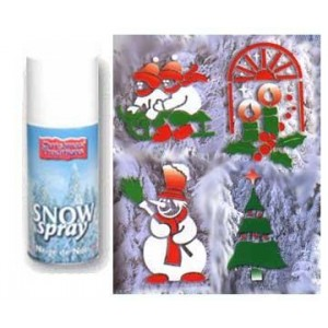 CHRISTMAS TRADITIONS Sníh spray 150ml Bílý