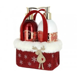 VIVIAN GRAY CHRISTMAS RED S2 Soap gel+Hand Lotion